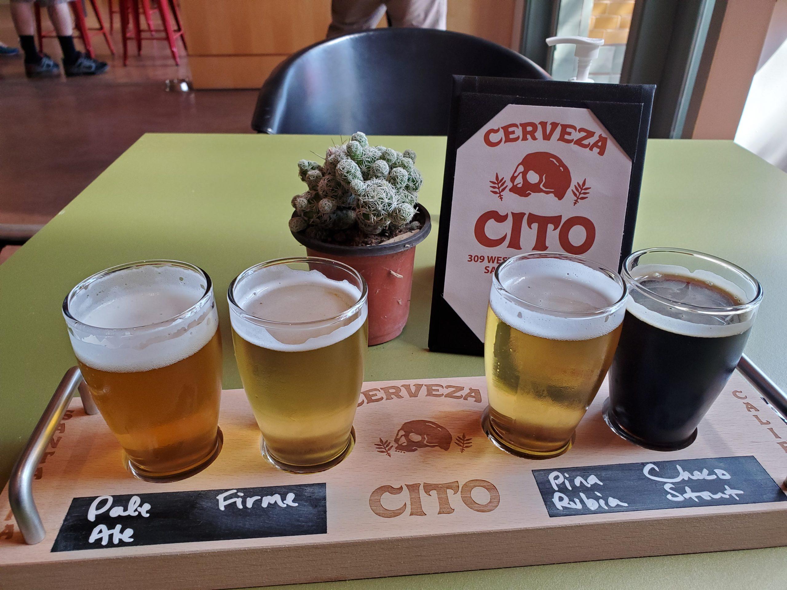 Tasters at Cito